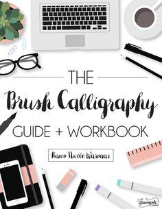 30 Days to Better Brush Calligraphy | Dawn Nicole Designs