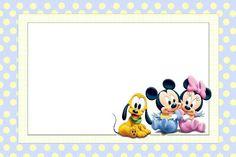 Imprimibles gratis de Bebés Disney.
