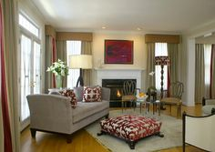 Portfolio Photographs - Room in Red - traditional - living room - dc metro - Patrick J. Baglino, Jr. Interior Design