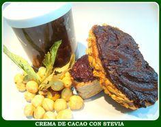 CREMA DE CACAO CON STEVIA (con video-receta)
