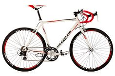 Road Racing Bike 28″ Euphoria 58cm 14 Gear White KS Cycling