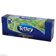 Herbata TETLEY INTENSIVE 25tb   spozywczo.pl Tetley Intensive dostępne na: http://www.spozywczo.pl/hurtownia-kawy-herbaty