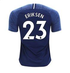 f80c0e78e02 Eriksen  23 Men s 2018-2019 Tottenham Hotspur Away Football Shirt â   Blue