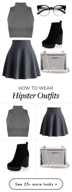 """""""cute look"""" by graziellyflores-1 on Polyvore featuring Chicwish, WearAll and Rochas"""