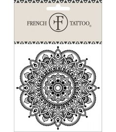 Mandala 3 - Tatouage éphémère