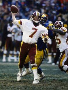 #7 Joe Theismann, QB - Washington Redskins