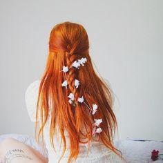 Red Hair Shades - every red hair shade imaginable