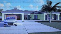 6 Bedroom House Plans MLB-1820S Home Design Plans, Plan Design, 6 Bedroom House Plans, Guest Toilet, Floor Layout, Double Garage, Entrance Hall, Open Plan Living, Master Suite