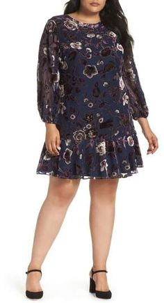Find Eliza J Ruffle Hem Shift Dress (Plus Size) online. Shop the latest collection of Eliza J Ruffle Hem Shift Dress (Plus Size) from the popular stores - all in one Plus Size Holiday Dresses, Plus Size Wedding Guest Dresses, Plus Size Party Dresses, Dresser, Resort Dresses, Bridal Dresses, Plus Size Fashion, Casual Dresses, Clothes For Women