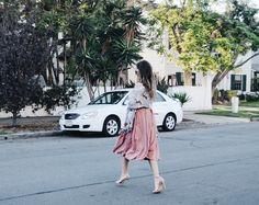 Skirt - boohoo.com / Shoes - Steve Madden / Scarf - H&M Coronado, CA  Fall Fashion / Fall Trends