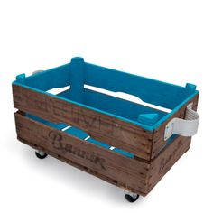 Opbergbox Blauw von I am Recycled auf DaWanda.com