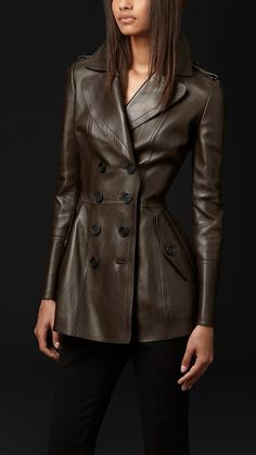 Bonded Leather Jacket | Burberry