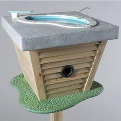 Splish Splash Birdbath