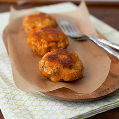 Sweet potato patties croquettes