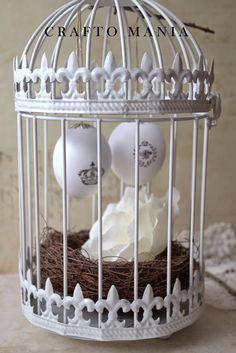 crafto-mania: DIY - vintage veľkonočné vajíčka