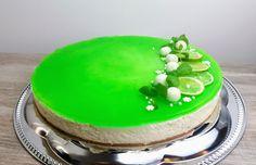 Lime-valkosuklaa juustokakku Cheesecake, Baking, Jade, Desserts, Food, Cheesecake Cake, Bread Making, Tailgate Desserts, Deserts