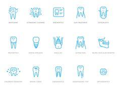 Dental icon kit
