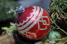 Hey, I found this really awesome Etsy listing at https://www.etsy.com/listing/172325554/beautiful-christmas-ornament-antique