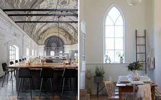 Interiores originales: Iglesias reconvertidas en casas y locales