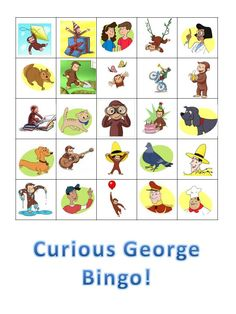 Parties2Plan: Curious George Party- Games & Activities