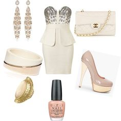 cocktail outfit, created by monicavasquez on Polyvore