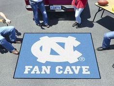 "University of North Carolina - Chapel Hill Fan Cave Tailgater 59.5""""x71"""""