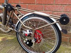 Brompton with Rohloff hub and disc brakes