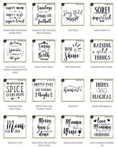 Limited Time Offer - All Files In The Shop - SVG Bundle example image 15 Printable Quotes, Printable Stickers, Printable Wall Art, Free Printables, Wall Art Quotes, Sign Quotes, Funny Quotes, 365 Quotes, Short Quotes
