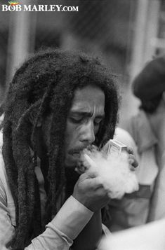 Click here for a curated selection of Bob Marley photos from backstage, around town, at historic events and at home.