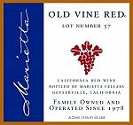 Marietta Cellars » Our Wines-delcious red blend-a new favorite