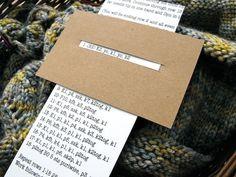 Great idea for following knitting or crochet patterns..✭Teresa Restegui http://www.pinterest.com/teretegui/ ✭