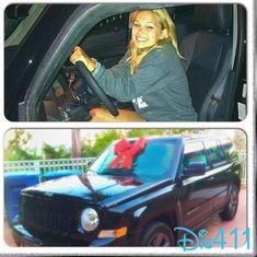 Another Photo Of Olivia Holt With Her Birthday Present July 28, 2014