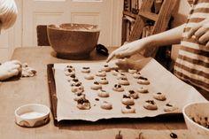 Backen mit Kindern: super lecker und einfach Fingerprint-Cookies