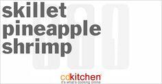 Skillet Pineapple Shrimp from CDKitchen.com