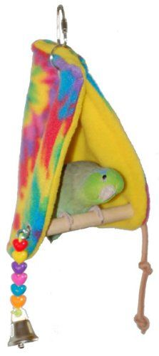 Super Bird Creations Peekaboo Perch Tent, 10 by 4.5-Inch, Small Bird Toy Super Bird Creations http://www.amazon.com/dp/B000OB2I82/ref=cm_sw_r_pi_dp_E3IEub061EVQ6
