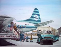Lockheed Electra - Schiphol Oost