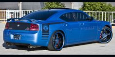 Cars Gallery | Dodge | Charger | Blue | Forgiato