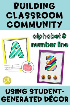 Put your students' artwork center stage with these student-generated alphabet and number visual posters! Just enough structure with A LOT of creativity. Great for back to school week!