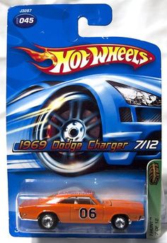 2006 Hot Wheels Treasure Hunt 1969 Charger #045 (on ebay)