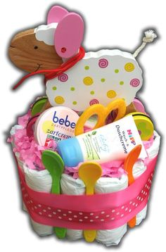Geschenke zur Geburt, Gewinnspiel Windeltorte