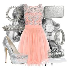 """Silvie :)"" by zaaki ❤ liked on Polyvore featuring Quiz, Palm Beach Jewelry, ALDO, H&M, Whistles and Marc by Marc Jacobs"