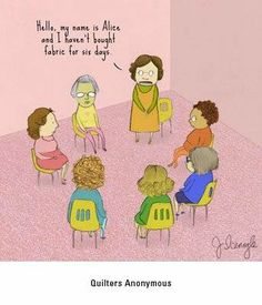 Quilters' Anonymous LOL