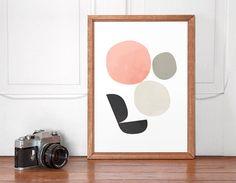Affiche impression minimaliste de l'art par ShopTempsModernes