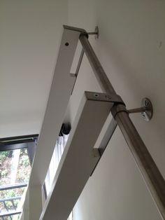 Ladders om vide te bereiken uit vorige bericht... klaar! Prijsindicatie EUR 850,-
