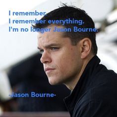 jason bourne quotes - Google Search