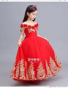 Little Girl Gowns, Cute Little Girl Dresses, Gowns For Girls, Cute Girl Outfits, Baby Girl Dresses, Baby Dress, Kids Outfits, Flower Girl Dresses, Kids Pageant Dresses