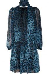 DOLCE & GABBANA Leopard-print silk dress $1195 PRE ORDER SPECIAL  http://hollyrotic.mybigcommerce.com/dolce-gabbana-leopard-print-silk-dress-1195-pre-order-special/