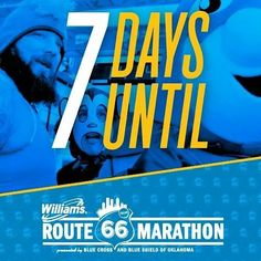 Registration for the 2017 Williams Route 66 Marathon opens in 7 DAYS! Are. You. Ready?! https://youtu.be/RnqT_LPBf1A?t=52s