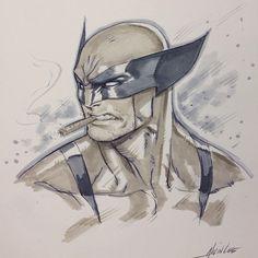 Wolverine by Alvin Lee *