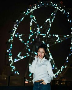 A star in front of a star 😎😏😝⭐ . 📸 (who made magic happen and clicked this photo in complete darkness! Girl Photography Poses, Creative Photography, Cool Girl, Cute Girls, Cute Girl Hd Wallpaper, Teen Fashion, Fashion Outfits, Frock For Women, Stylish Girl Images